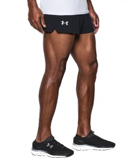 1289750-001 UNDER ARMOUR  LAUNCH SW SPLIT SHORTS