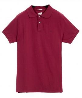 181.EM35.71-034  EMERSON  MEN'S BASIC POLO (RED)