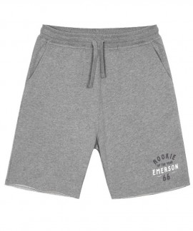 181.EM26.84-014 EMERSON   MEN'S SWEAT SHORT PANTS (GREY)