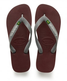 4110850-4924  HAVAIANAS BRASIL LOGO(GRAPE WINE)