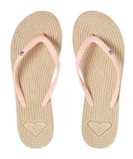 ARJL100685-PHS ROXY SOUTH BEACH II FLIP-FLOPS (PEACHES)