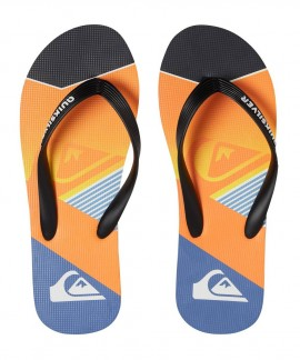 AQBL100264-XKNS QUIKSILVER MOLOKAI SLASH FADE LOGO (ORANGE)