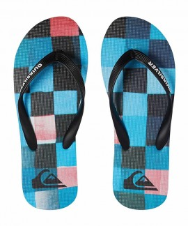 AQBL100281- QUIKSILVER MOLOKAI RESIN CHECK (RED)