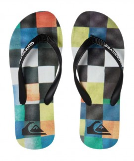 AQBL100281-XKBG QUIKSILVER MOLOKAI RESIN CHECK (GREEN)