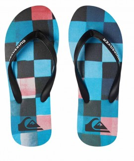 100569-XKBR QUICKSILVER (BLACK/BLUE/RED) MOLOKAIRESINCHK