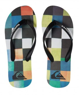 100569-XKBG QUICKSILVER (BLACK/BLUE/GREEN) MOLOKAIRESINCHK