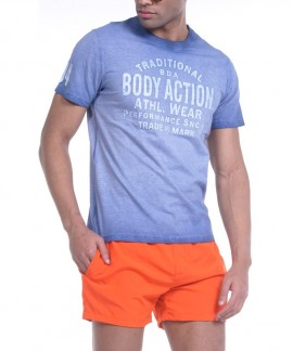 053822-RΑF BODY ACTION MEN OVER DYED T-SHIRT