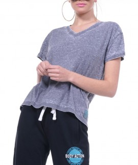 051817-GRΑΝΙΤΕ BODY ACTION WOMEN OVERSIZED S/S TOP