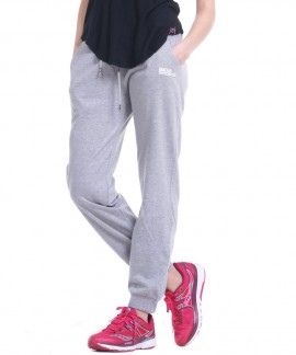 021834-L.MEL.GREY BODY ACTION WOMENS REGULAR FIT PANT