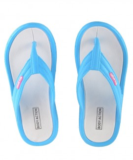 091810-L.ΒLUΕ BODY ACTION WOMEN FLIP FLOPS