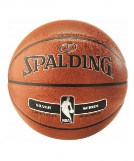 76-018Z1 SPALDING NBA SILVER INDOOR/OUTDOOR