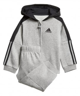 DJ1585 ADIDAS LOGO HOODED FLEECE JOGGER