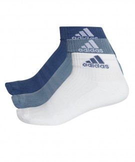 CF7338 ADIDAS 3-STRIPES PERFORMANCE ANKLE SOCKS