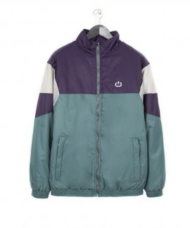 182.EM10.11-009 EMERSON MEN'S JACKET WITH ELASTIC BAND (PINE/PURPLE/ICE)