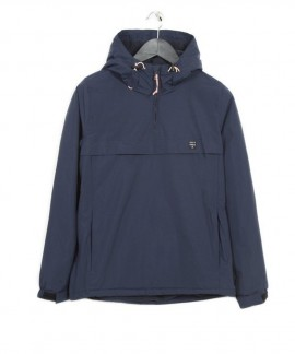 182.EW10.90-077 EMERSON WOMEN'S PULL-OVER JKT WITH HOOD (BLUE)
