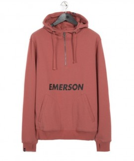 182.EM20.13-039 EMERSON GRAPHIC PRINT HOODIE (CRANBERRY)