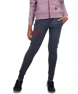 021841-01 BODY ACTION WOMEN RELAXED JOGGERS (D.ΜΕL.GRΕΥ)