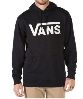 VN000J8NY281 VANS CLASSIC PULLOVER HOODIE (BLACK/WHITE)