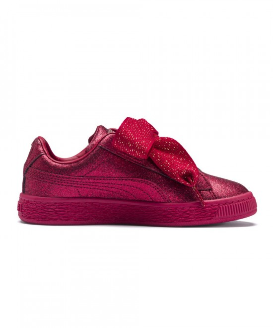 367631-01 PUMA BASKET HEART HOLIDAY GLAMOUR P