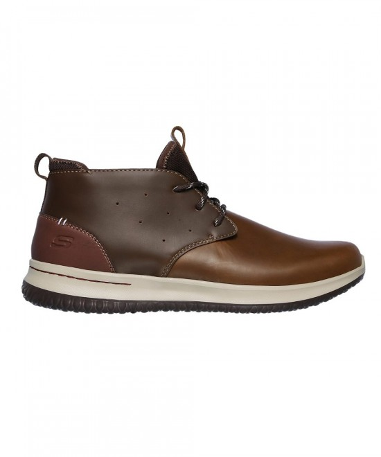 65695-BRN SKECHERS DELSON - CLENTON (BROWN)