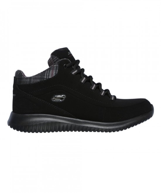 12918-BBK SKECHERS ULTRA FLEX - JUST CHILL (BLACK)