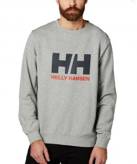 34000-949 HELLY HANSEN LOGO CREW SWEAT (GREY)