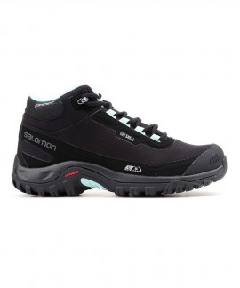 404731 SALOMON WINTER SHOES SHELTER CS WP W (BLACK)