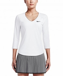 728791-100  NIKE COURT PURE TENNIS TOP