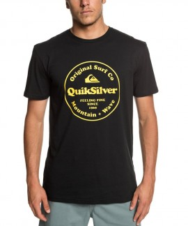 EQYZT05265-KVJ0 QUIKSILVER SECRET INGREDIENT T-SHIRT (ΜΑΥΡΟ)