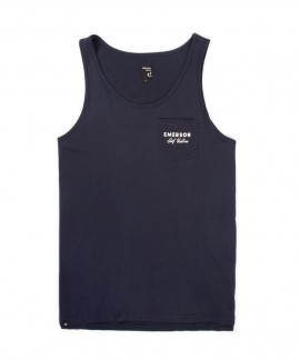 191.EM37.47-011 EMERSON MEN'S TANK TOP (NAVY BLUE)