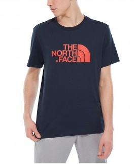 T92TX3BER THE NORTH FACE EASY T-SHIRT (ΣΚΟΥΡΟ ΜΠΛΕ)