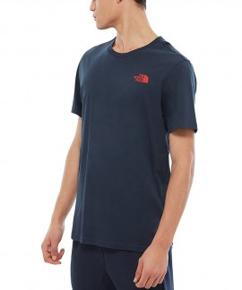 T92TX5BER THE NORTH FACE SIMPLE DOME T-SHIRT (ΜΠΛΕ ΣΚΟΥΡΟ)