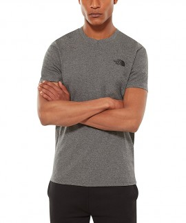 T92TX5JBV THE NORTH FACE SIMPLE DOME T-SHIRT (ΓΚΡΙ)