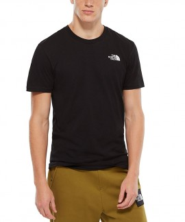 T92TX5JK3 THE NORTH FACE SIMPLE DOME T-SHIRT (ΜΑΥΡΟ)