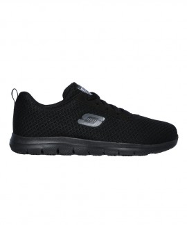 77210EC-BLK SKECHERS WORK RELAXED FIT: GHENTER - BRONAUGH SR