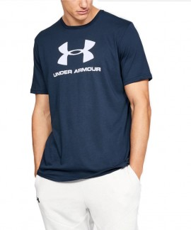 1329590-408 UNDER ARMOUR SPORTSTYLE LOGO SS