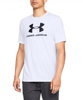 1329590-100 UNDER ARMOUR SPORTSTYLE LOGO SS