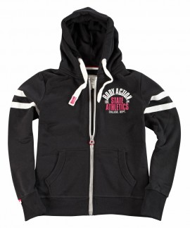 071733 BODY ACTION WOMEN ACTIVE ZIP HOODIE