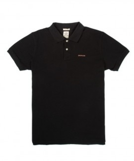 191.EM35.69-002 EMERSON MEN'S BASIC POLO (BLACK)
