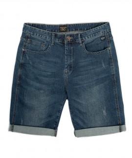 191.EM45.97-020 EMERSON MEN'S STRETCH DENIM SHORT PANTS (BLUE)