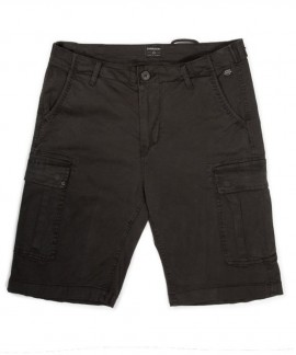 191.EM47.95-002 EMERSON MEN'S STRETCH CARGO SHORT PANTS (BLACK)
