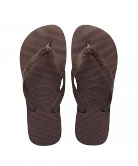 4000029-0727 HAVAIANAS TOP (DARK BROWN)