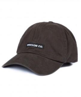 191.EU01.32-032 EMERSON BASEBALL CAP (EBONY)