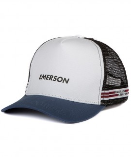191.EU01.22-054 EMERSON TRUCKER CAP (WHITE)