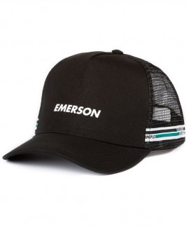 191.EU01.22-002 EMERSON TRUCKER CAP (BLACK)