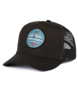 191.EU01.26-002 EMERSON KEEP IT SIMPLE TRUCKER CAP (BLACK)