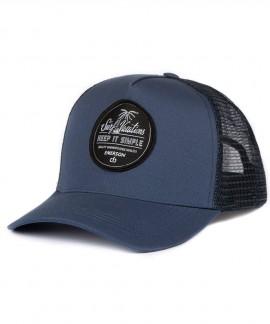 191.EU01.26-004 EMERSON KEEP IT SIMPLE TRUCKER CAP (NAVY)