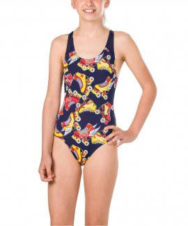 07386-C868G SPEEDO ALLOVER SPLASHBACK SWIMSUIT