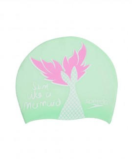 08386-C698J SPEEDO MERMAID JUNIOR SLOGAN CAP