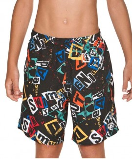 001851-510 ARENA ROWDY JR BERMUDA SWIM SUIT